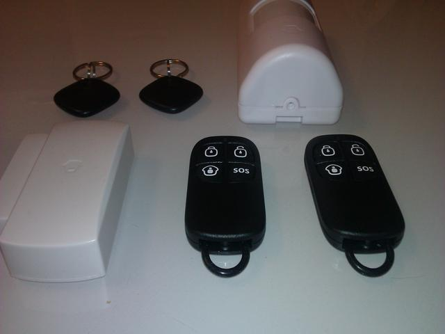 Брелки охрана сигнализации беспроводной