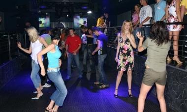 Видеонаблюдение в ночном клубе