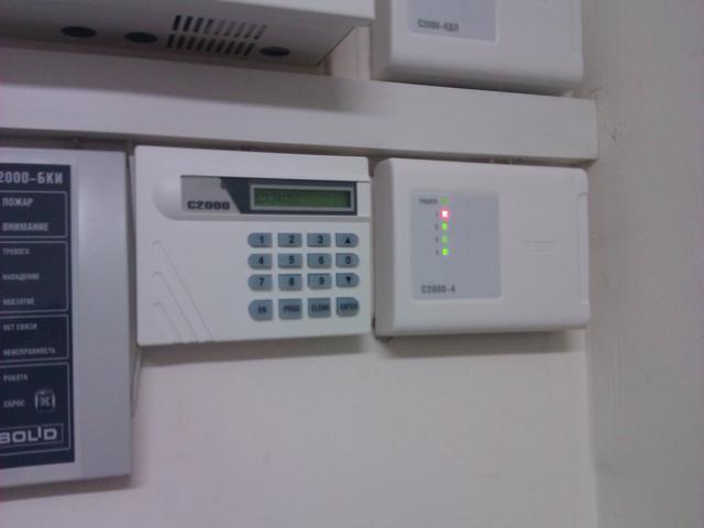 Установка проводной автономной сигнализации в квартиру